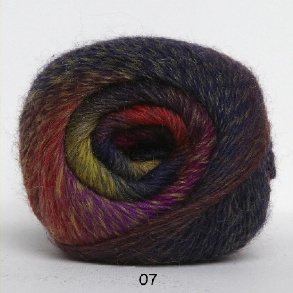 Kunstgarn 01 sortgrå