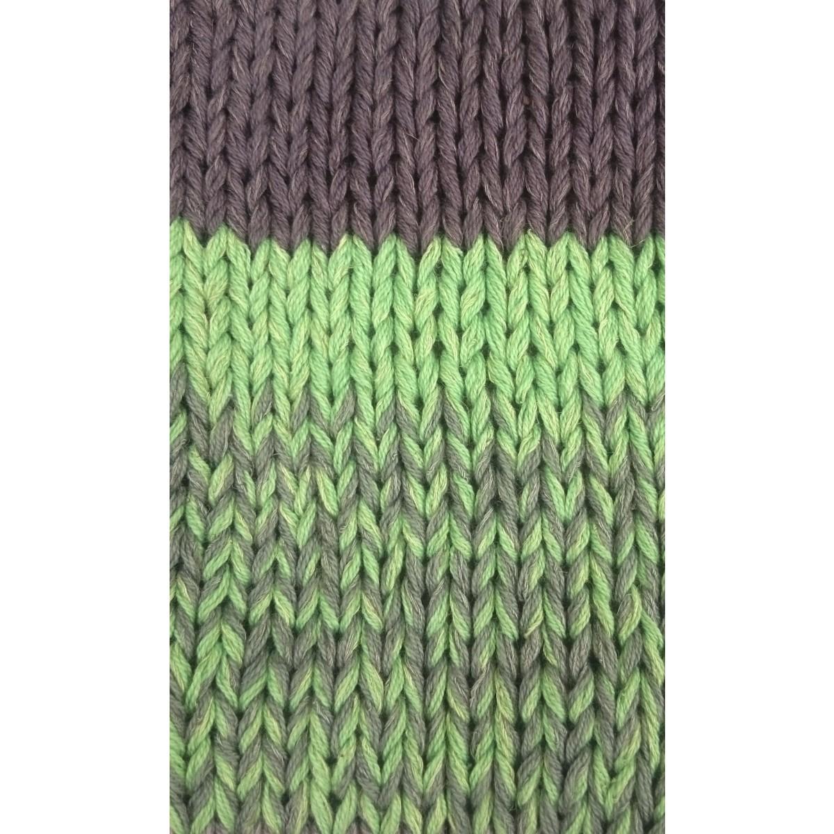 Sommertrøje majsgul/grå