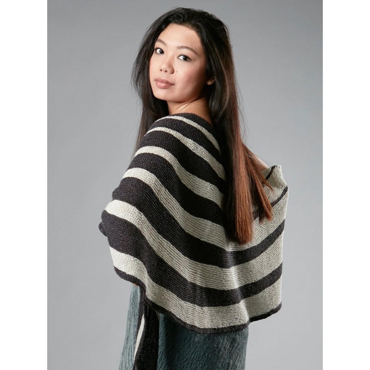 Stribet sjal