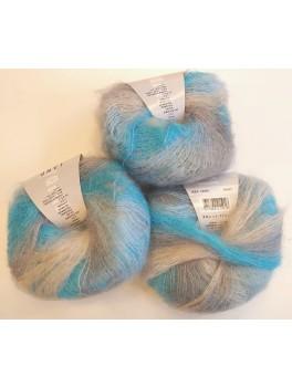 blå/grå, 11 stk