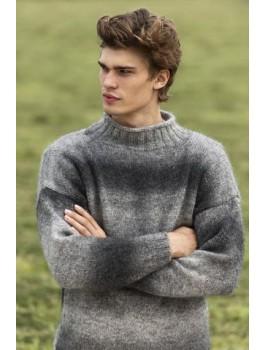 Herresweater m. ribkrave-20