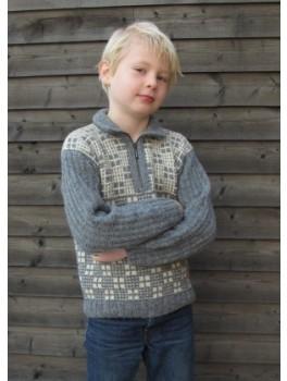 Junior 1, grå/elfenben