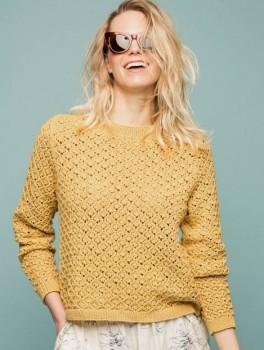 Lace genser