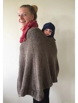 mor/barn poncho