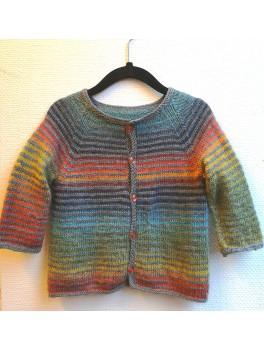regnbuetrøje