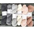 grå/rosa