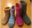 Hæklede, filtede støvler-01