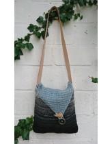 Hæklet dip-dye taske