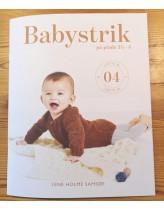 Babystrik på pinde 3½-4 (hæfte nr 4)