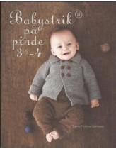 Babystrik på p. 3½-4 (hæfte nr 2)