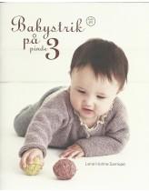 Babystrik på pinde 3, (hæfte nr 1)