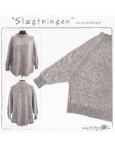 Slægtningen ponchosweater